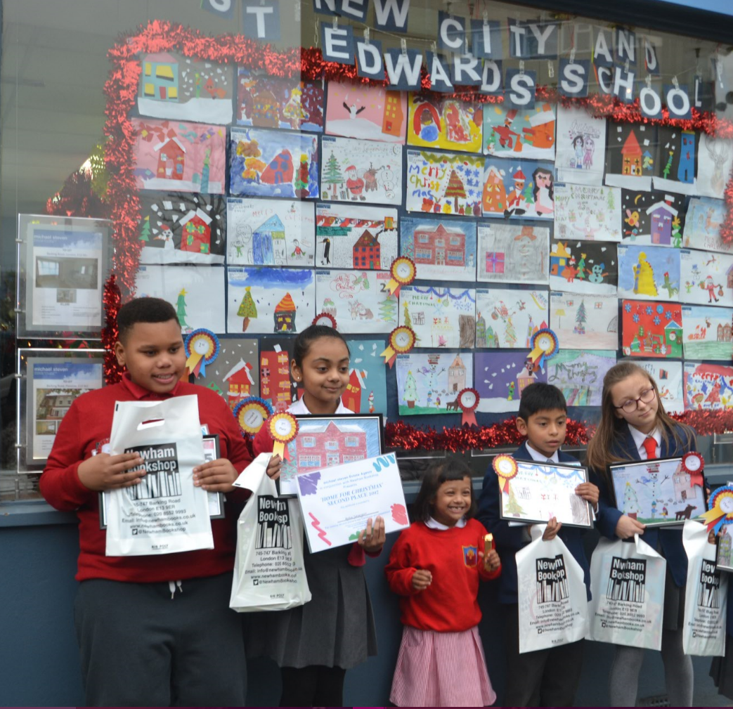 Our 'Home for Christmas' Art competition